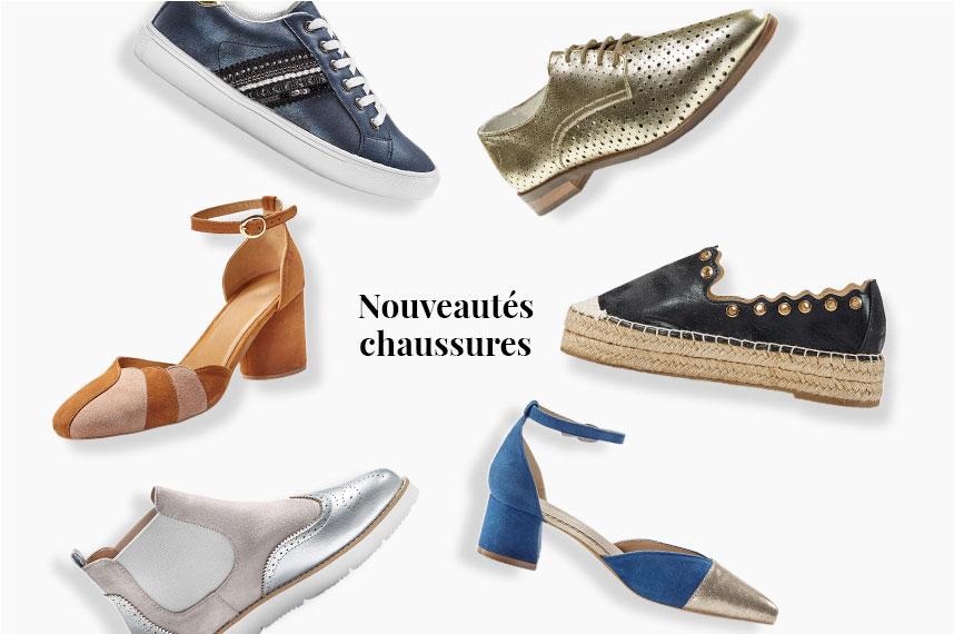 Tendances chaussures femme Printemps-été 2020