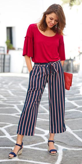 Modetrend: een streepje voor hebben