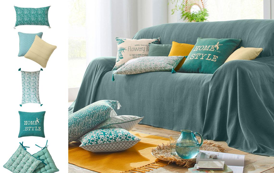 Interieurtrend: dit voorjaar kleurt uw huis groen.