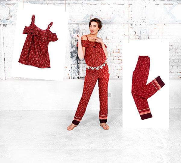 2-delige jumpsuit of jurk: stel zelf samen volgens uw lichaamsbouw!