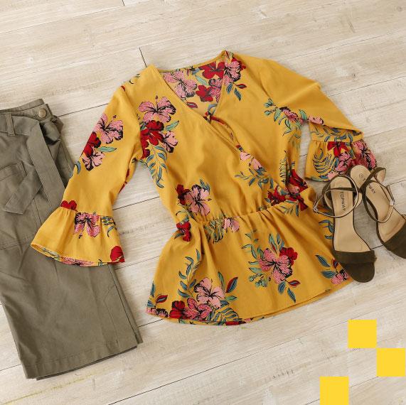 Modetrend : een snufje saffraangeel