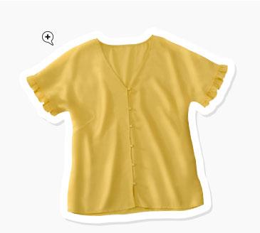 Tendance Mode : le jaune safran à saupoudrer