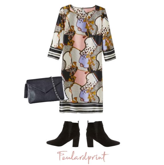 Look van de dag: foulardprint