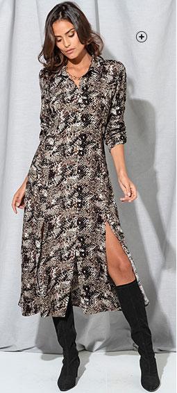 Le glamour chic, au coeur de la tendance robe longue