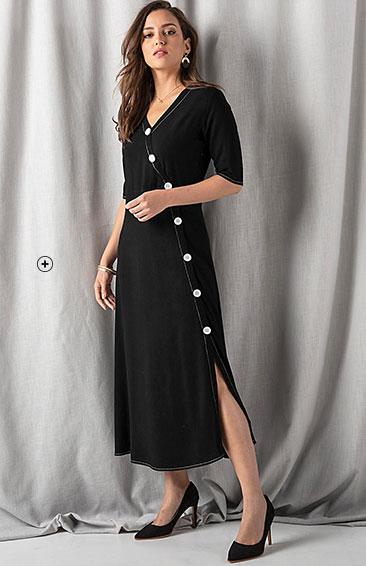 Shoppez une robe porte-feuille
