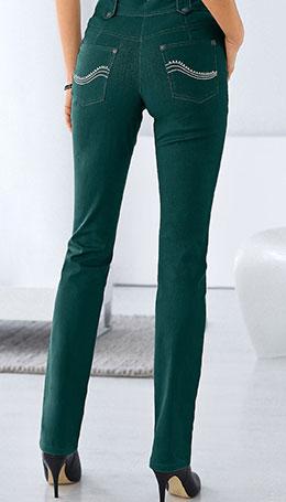 broek met hoge taille