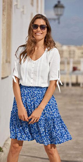 blouse macramé