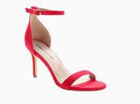 Rood sandalen met riempje