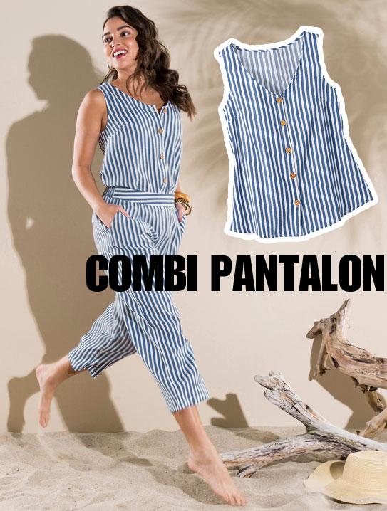 Combinaison pantalon femme