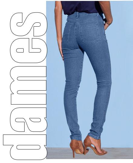 Afslankend jeans