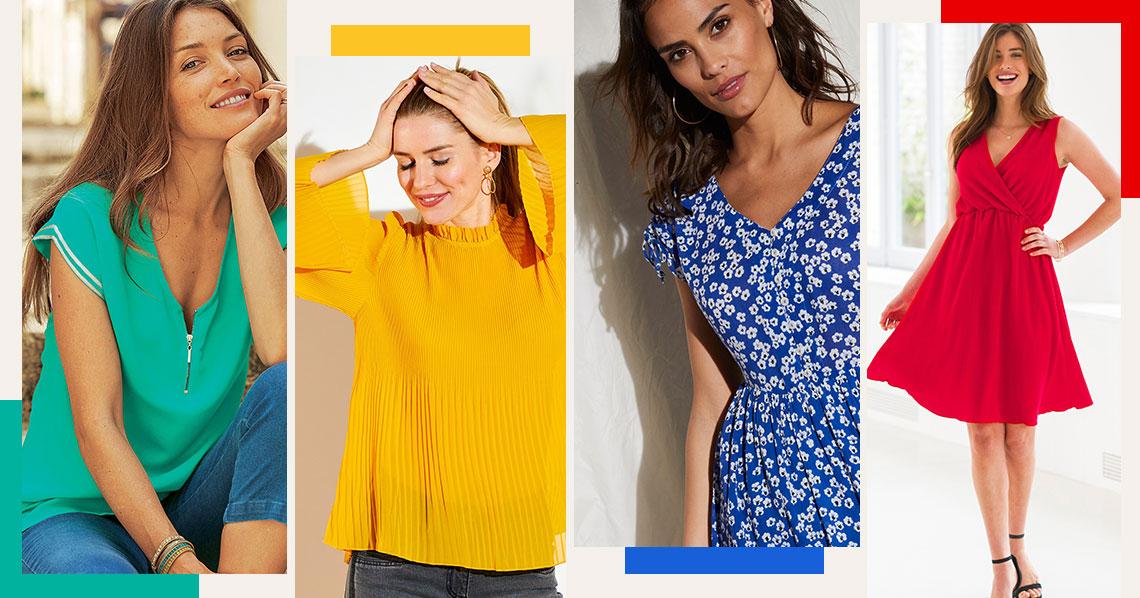 Mode femme : les 4 couleurs de l'été 2020