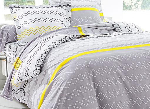 Parure de lit en coton