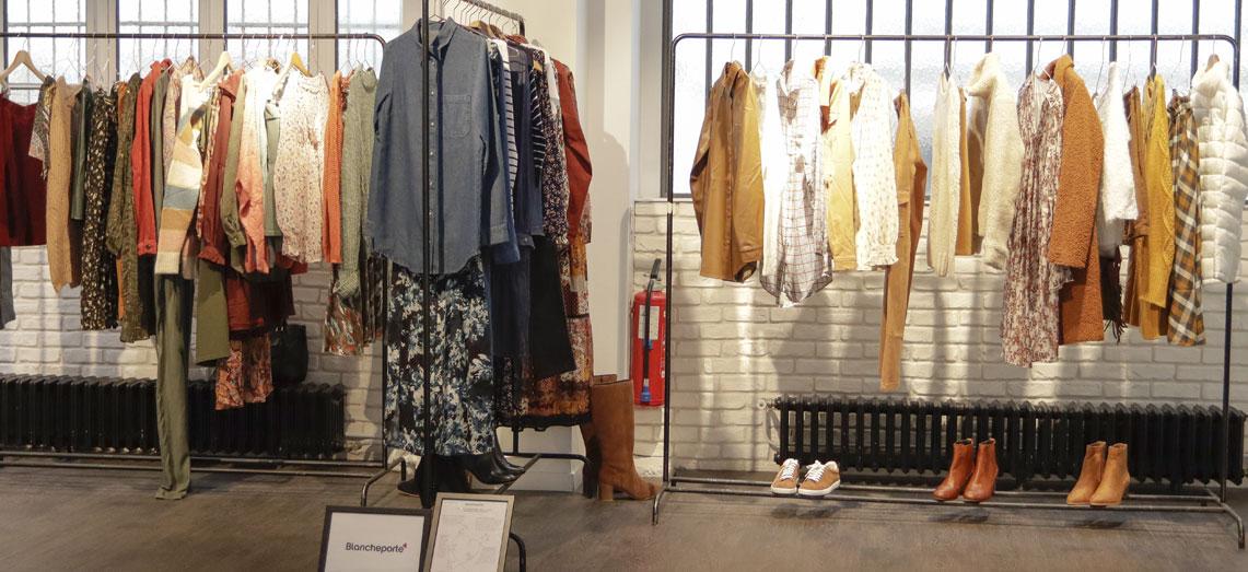 Collectie kleding herfst-winter