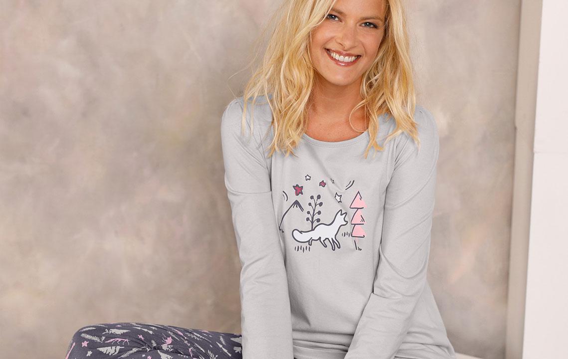 Welke damespyjama kiezen voor de winter?