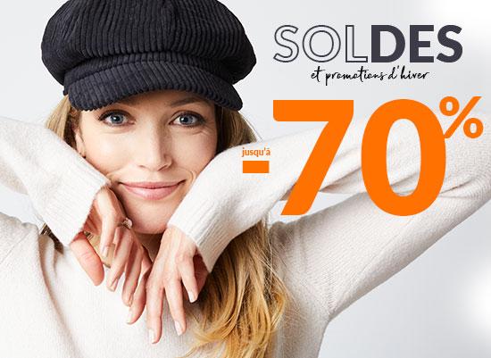 Soldes et promotions d'hiver 2021 pour femme, homme, lingerie et maison - Blancheporte