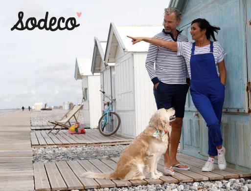 Collectie mode voor dames en heren Sodéco - goedkoop - Blancheporte