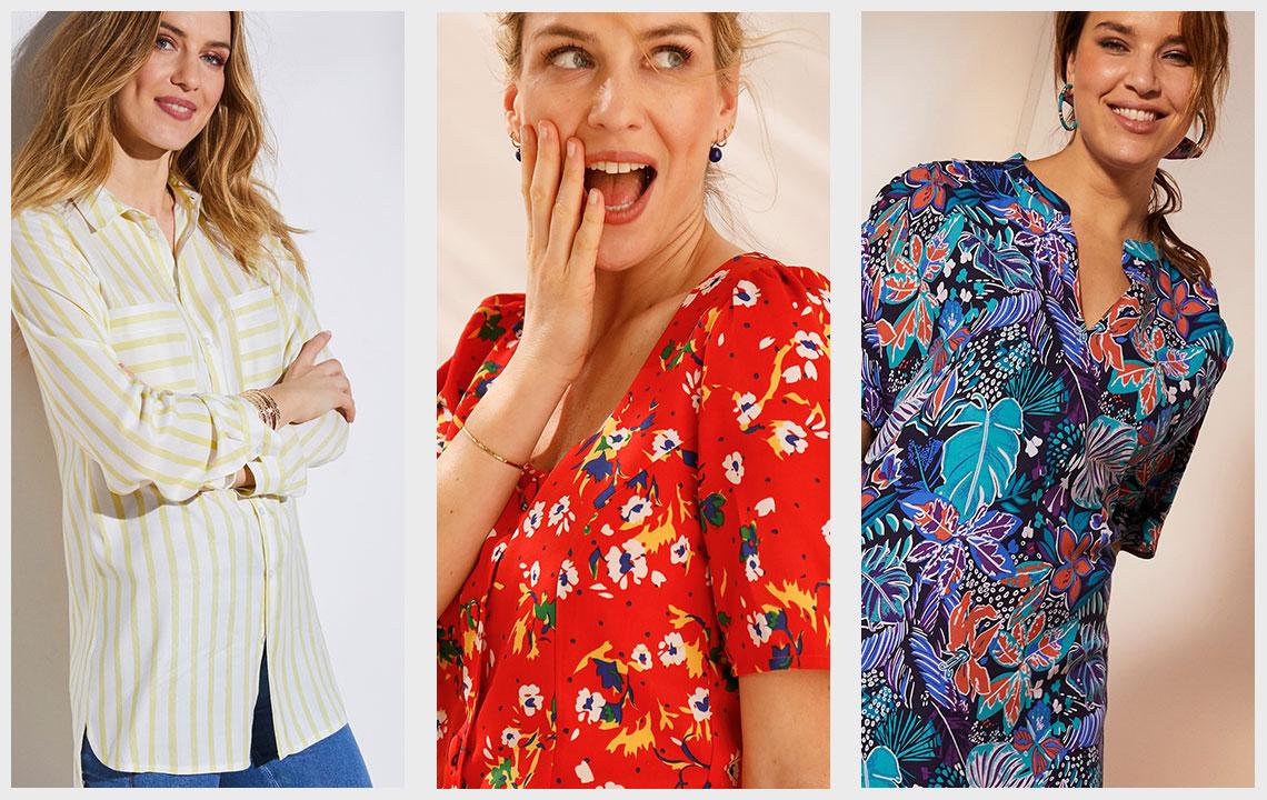 Mode femme : quels sont les 3 imprimés de l'été ?