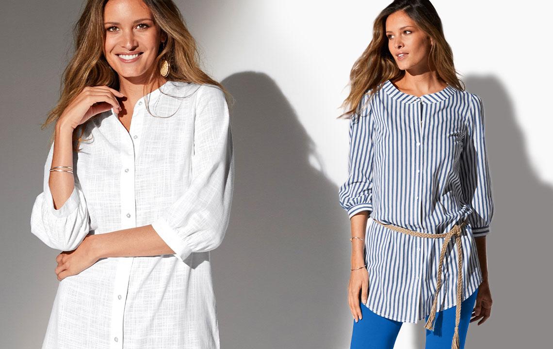 Comment porter la chemise longue avec style ?