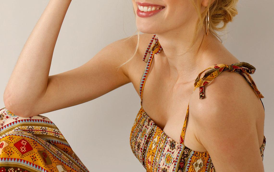 Lange jurk: Modetrend voor Lente-Zomer 2021