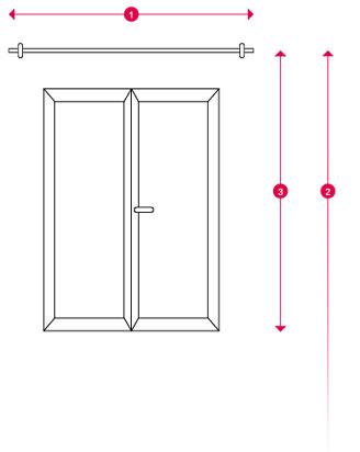 Hoe de afmetingen nemen van een venster om gordijnen te kiezen?