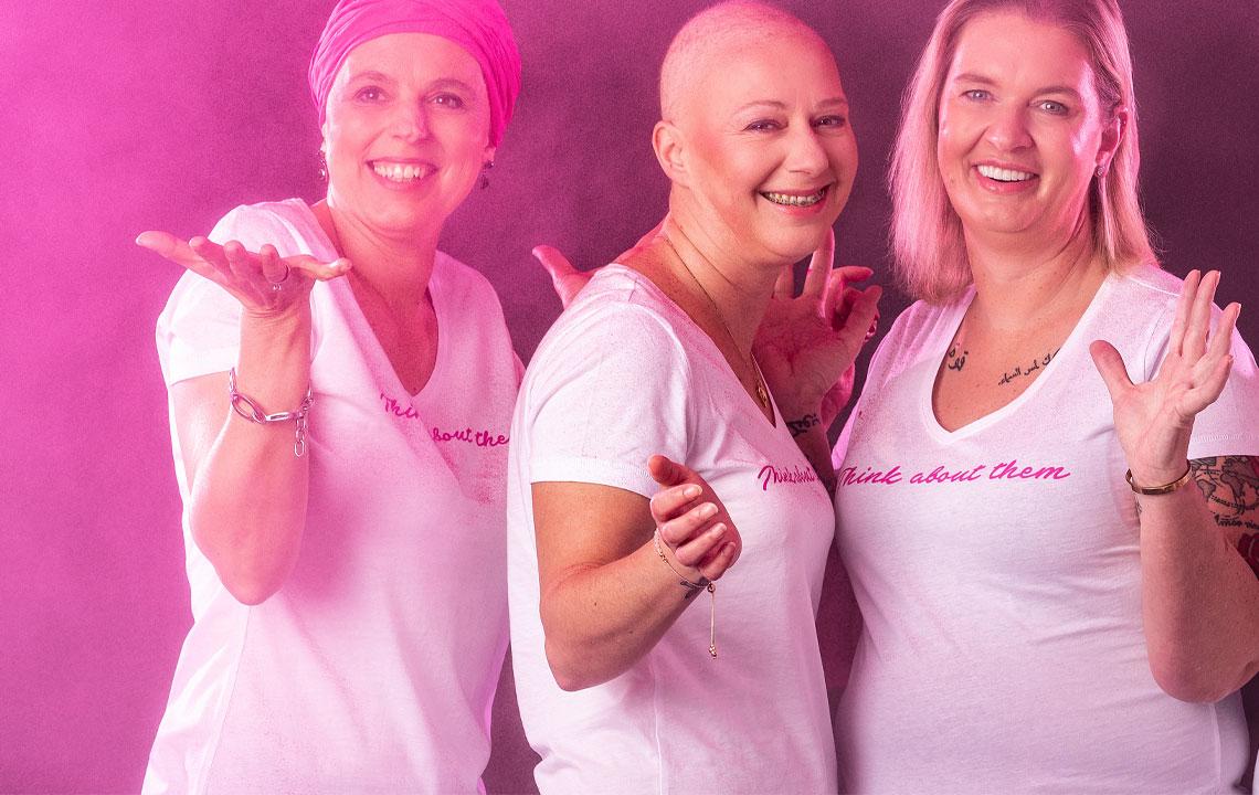 Blancheporte steunt de strijd tegen borstkanker