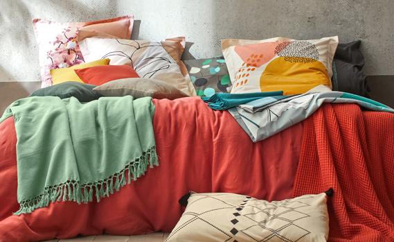Tendance couleurs linge de lit Printemps-Été 2021