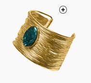 Bracelet manchette doré - pas cher - Blancheporte